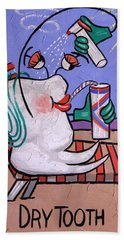 Dry Tooth Dental Art By Anthony Falbo Beach Towel