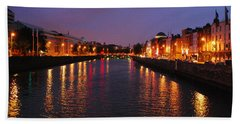 Dublin Nights Beach Towel
