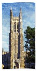 Duke University's Chapel Tower Beach Sheet