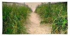 Dunes Catch Light Beach Towel by Diana Angstadt