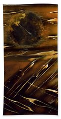 Beach Towel featuring the painting Dunes by Jason Girard