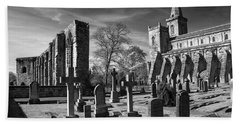 Dunfermline Palace And Abbey Beach Towel