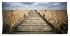 Dungeness Beach Walkway Beach Sheet