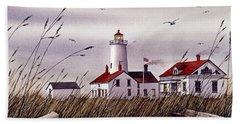 Dungeness Lighthouse Beach Towel