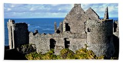 Dunluce Castle Beach Towel