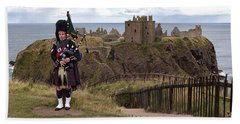 Dunnottar Piper Beach Sheet by Eunice Gibb