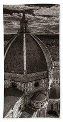 Duomo Dalla Campanile  Beach Towel