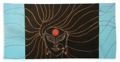 Maa Kali II Beach Towel