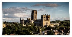 Beach Towel featuring the photograph Durham Cathedral by Matt Malloy