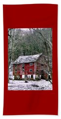 Beach Towel featuring the photograph Pennsylvania Dusting by Michael Hoard