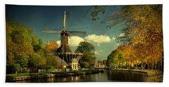 Dutch Windmill Beach Sheet