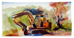 Duty Dozer II Beach Sheet by Kip DeVore