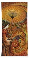 Dynamic Oriental Beach Towel