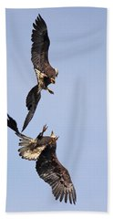 Eagle Ballet Beach Towel by Randy Hall