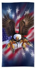 Eagle Burst Beach Towel