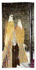 Winter Dress Beach Towel by Kim Prowse