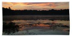 Eagle River Sunrise No.5 Beach Towel