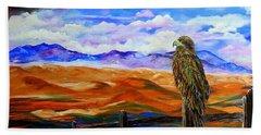 Eagles Watch Beach Towel