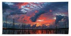 Early Dawns Light Beach Towel by Roger Becker