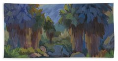 Early Light Indian Canyon Beach Towel
