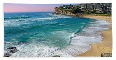 Early Morning Bronte Beach By Kaye Menner Beach Towel