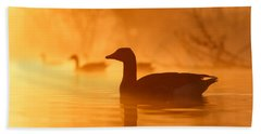 Early Morning Mood Beach Towel by Roeselien Raimond