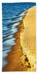 Early Morning Walk Beach Towel