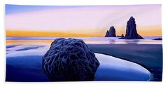 Earth Sunrise Beach Towel