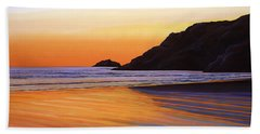 Earth Sunrise Sea Beach Towel