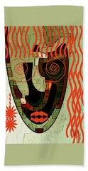 Earthy Woman Beach Towel