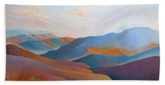 East Fall Blue Ridge No.3 Beach Towel