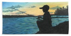 East Pond Beach Towel by Troy Levesque