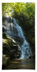 Eastatoe Falls North Carolina Beach Towel