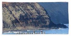 Easter Island Requiem Beach Towel