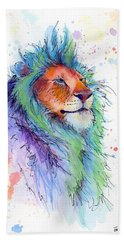 Easter Lion Beach Towel