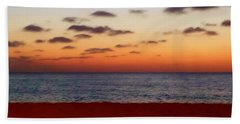 Beach Towel featuring the photograph Easter Sunset by Amar Sheow