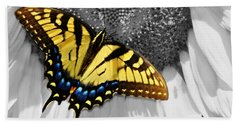 Eastern Tiger Swallow Tail  Beach Towel