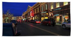 D65l-123 Easton Town Center Photo Beach Towel