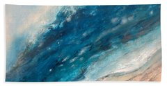 Ebb And Flow Beach Sheet by Valerie Travers
