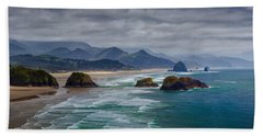 Ecola Viewpoint Beach Towel