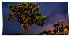 Edge Of Town Beach Towel by Angela J Wright