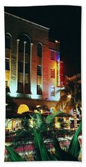 Edison Hotel Film Image Beach Towel
