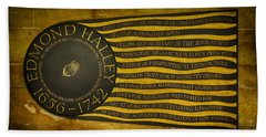 Edmond Halley Memorial Beach Towel by Stephen Stookey