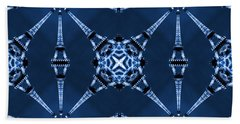 Eiffel Art 18 Beach Towel