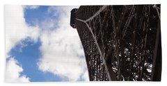 Beach Towel featuring the photograph Eiffel Tower by Tiffany Erdman