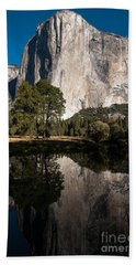 El Capitan In Yosemite 2 Beach Sheet