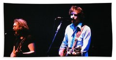 The Grateful Dead 1980 Capitol Theatre Beach Towel by Susan Carella