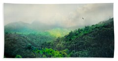 El Yunque National Rain Forest Beach Towel by Diana Angstadt