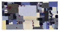 Elastic Dialog Beach Sheet by Regina Valluzzi