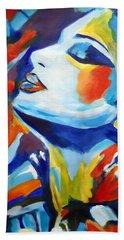 Elation Beach Towel by Helena Wierzbicki